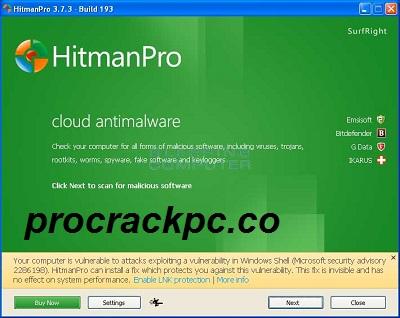 HitmanPro 3.8.22 Crack + Key Full Download Latest Version